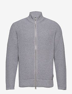 Piet Zip 6371 - MEDIUM GREY MELANGE