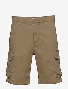 Cargo Shorts 1042 - cargo shorts - dk khaki