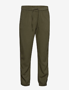 Pelle 1363 - spodnie na co dzień - olive