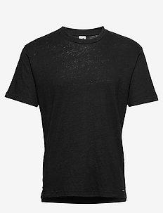 Dylan Tee 3263 - perus t-paidat - black