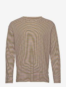 Kurt 3463 - long-sleeved t-shirts - canela brown