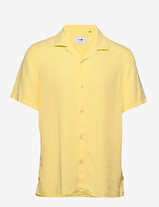 Miyagi Short 5029 - checkered shirts - yellow