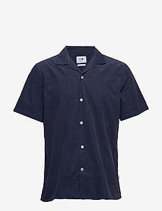 Miyagi Short 5082 - basic-hemden - indigo blue
