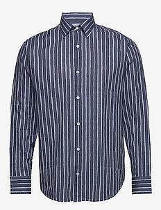Errico Shirt 5212 - casual shirts - blue stripe