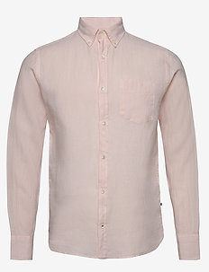 Levon Shirt 5706 - basic shirts - beverly pink