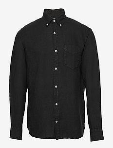 Levon Shirt 5706 - chemises basiques - black