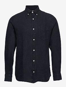Levon Shirt 5706 - basic shirts - navy blue