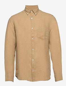 Levon Shirt 5706 - basic shirts - sable khaki