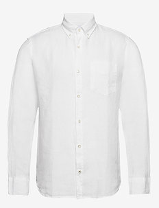 Levon Shirt 5706 - basic shirts - white