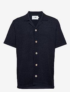 Miyagi Short 6380 - basic shirts - navy blue