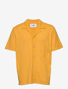 Miyagi Short 6380 - chemises basiques - saffron