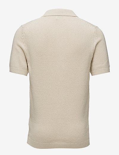 Nn07 Short Sleeve Polo 6274- Pikeepaidat Ecru