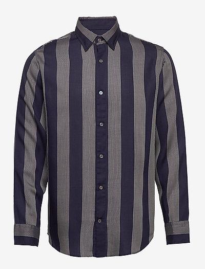 Errico Shirt 5164 - hørskjorter - off white stripe