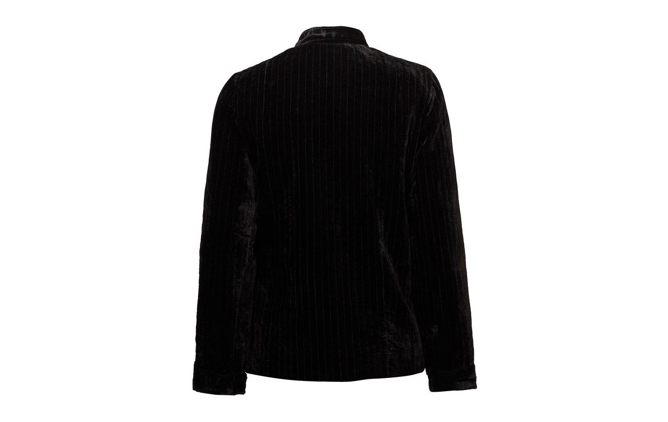 80 Black Viscose Jacket 20 Nylon Noa xT81SwxR
