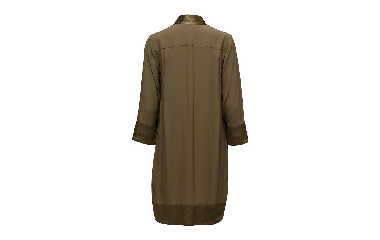 100 Noa Gothic Olive Dress Sleeve Viscose Long wzzq61pxX