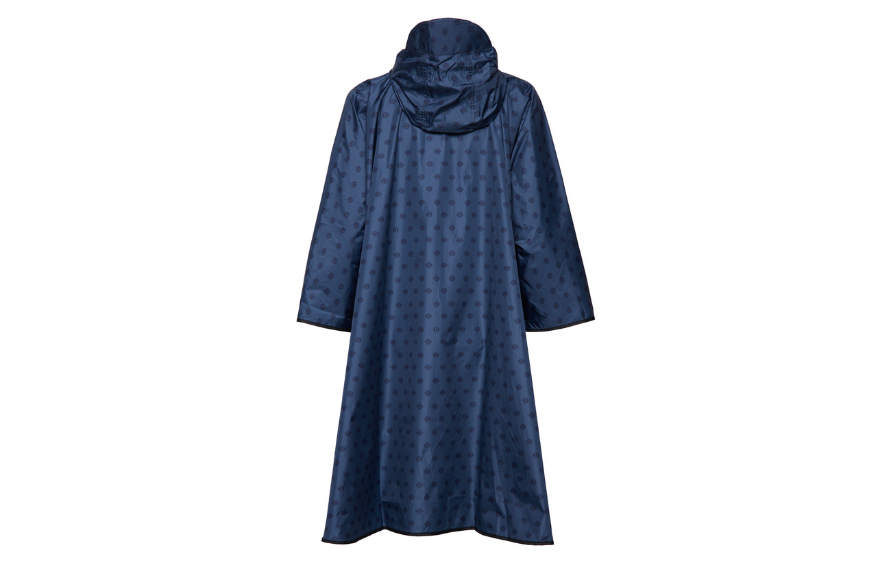 Blue Polyester 100 Noa Poncho Print 8wqxS1EpC