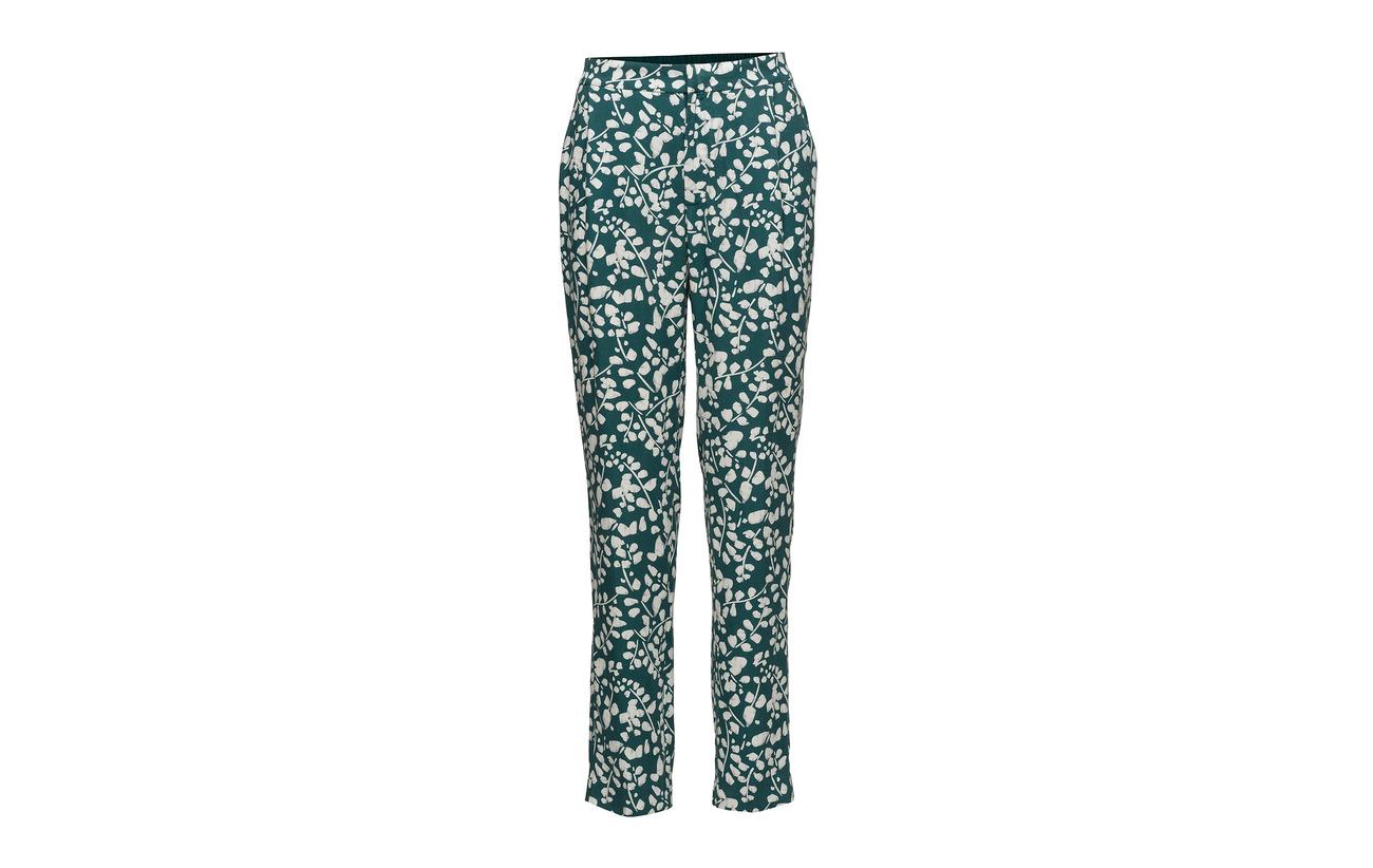 Trousers Noa Tencel 100 Print Green HrZq6wd4xr
