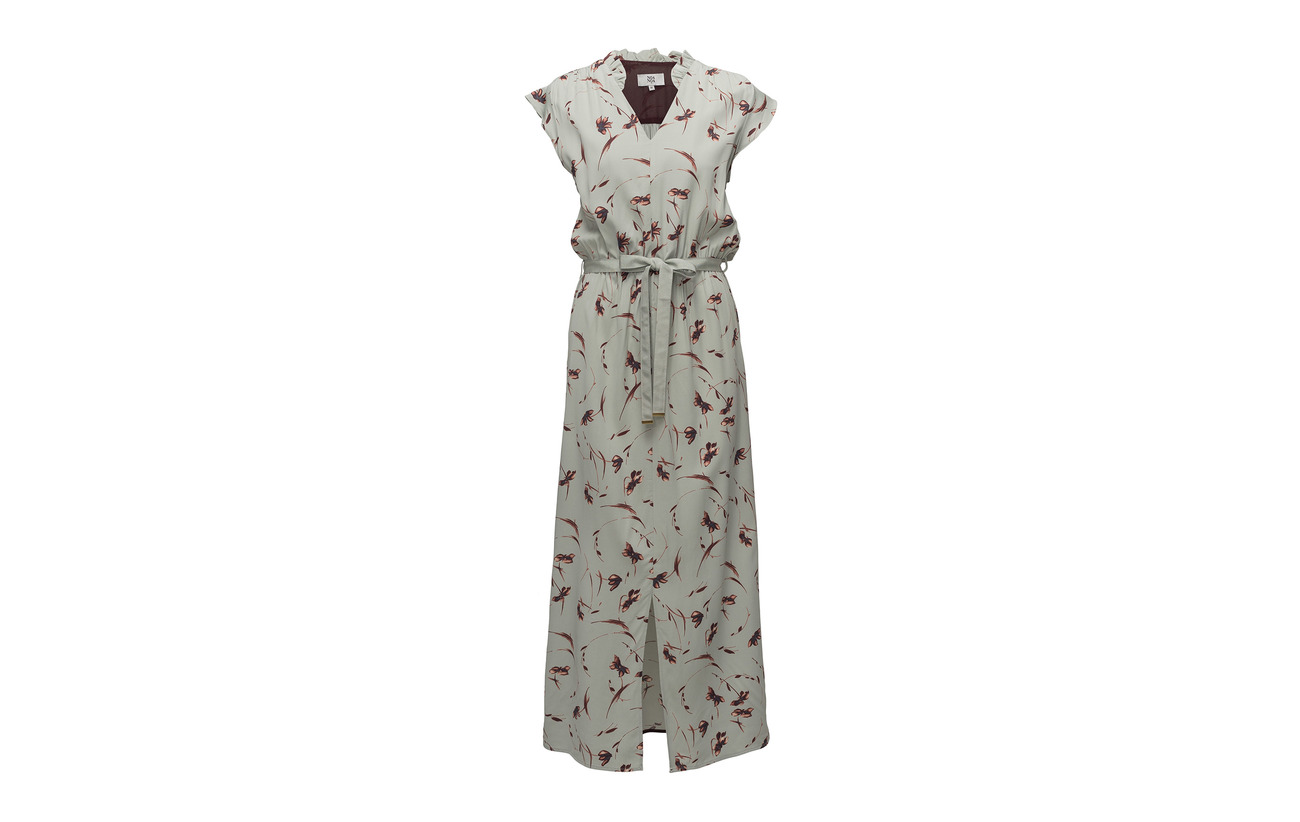 Green 97 3 Dress Elastane Sleeveless Noa Print Viscose q7RzcwO