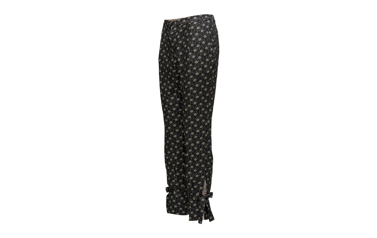 Tencel 100 Noa Black Trousers Print fPwqpF