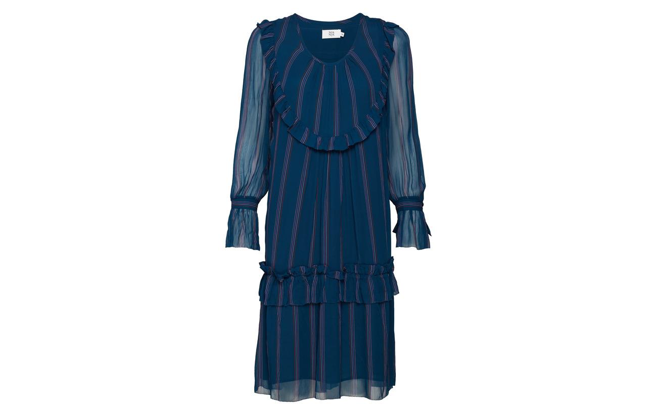 Viscose Long 100 Black Noa Sleeve Dress XwqR0U