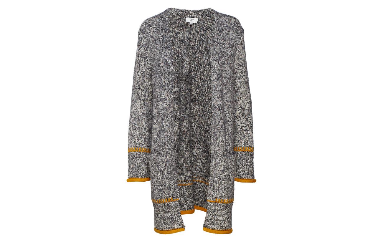 Coton 5 27 Art 13 Polyamide Cardigan Acrylique Noa Polyester Grey 55 qB1OIBw