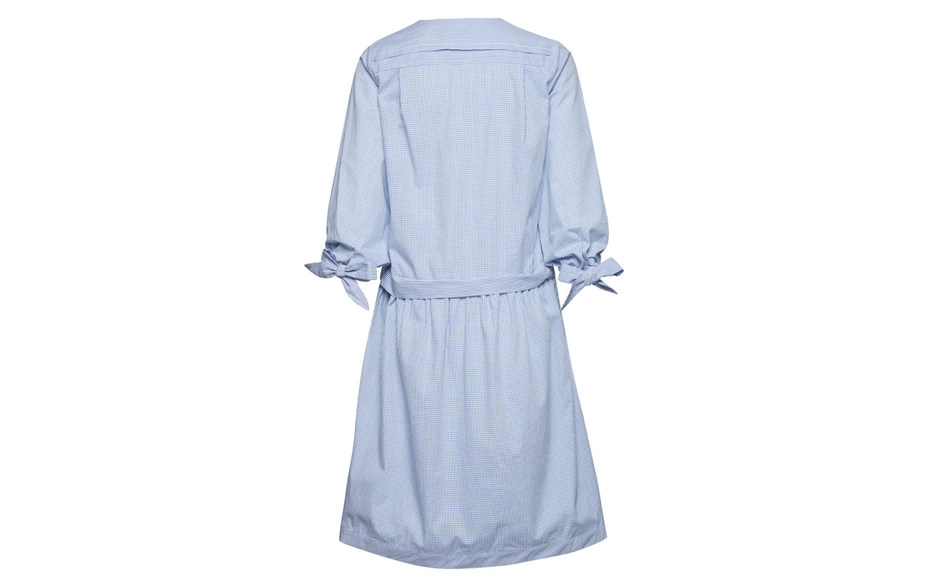 Coton Blue Dress Art 100 Long Sleeve Noa 1xYqW4nnI