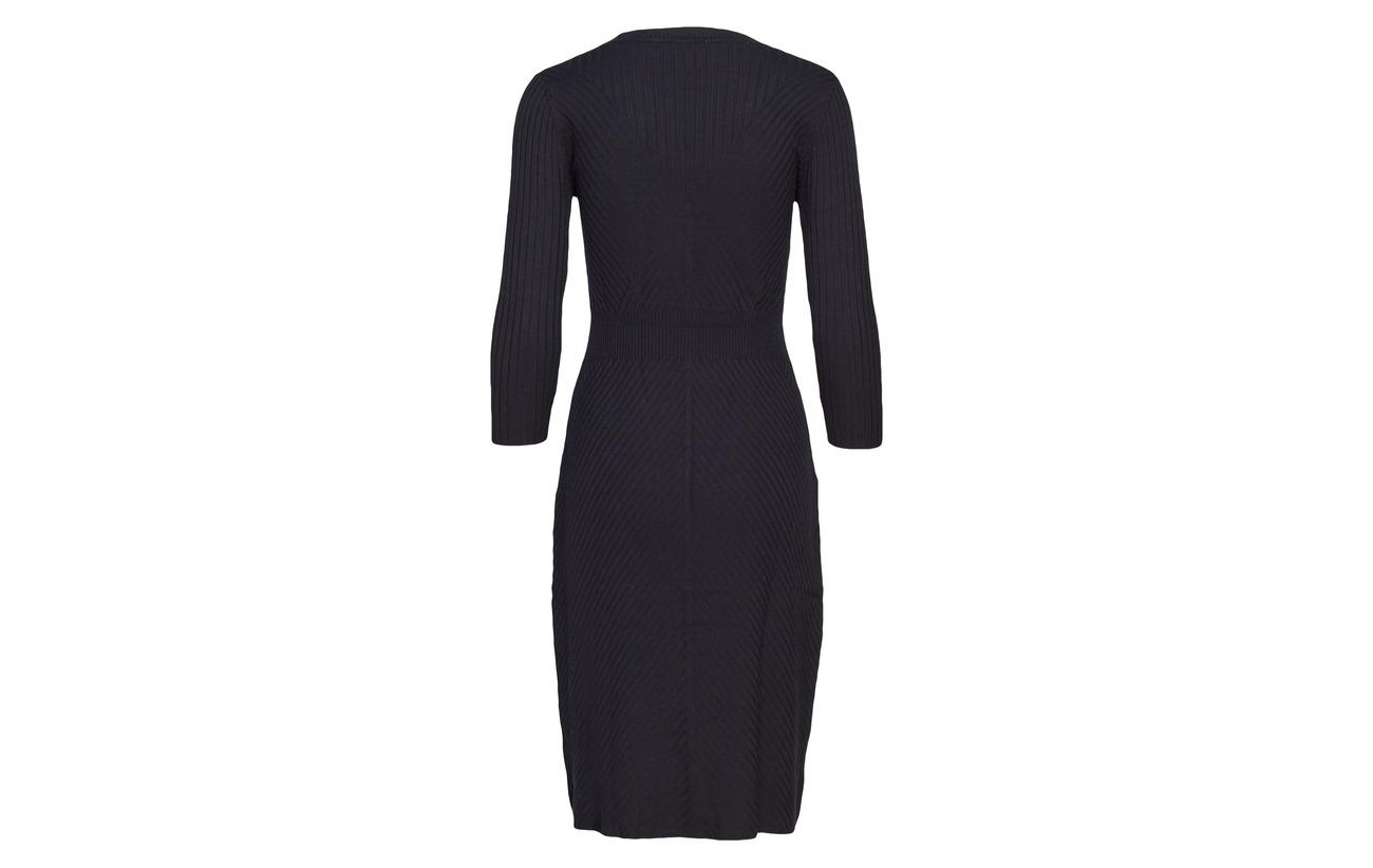 20 Sleeve Noa Polyamide Black 80 Long Dress Viscose pqpT7EYBw
