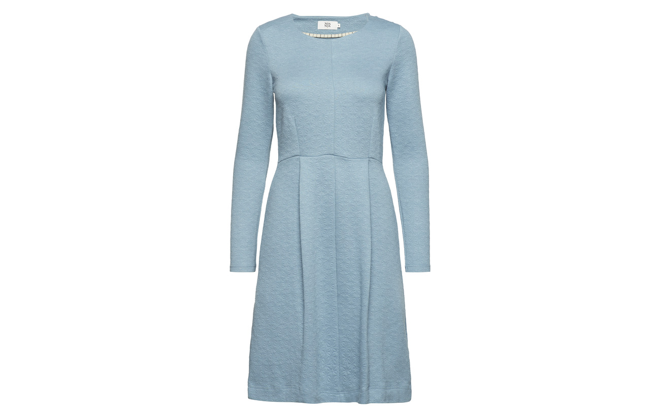 Sleeve Noa Long Cottton Modale Polyamide Dress 24 37 Bluestone TUUE1Hwx