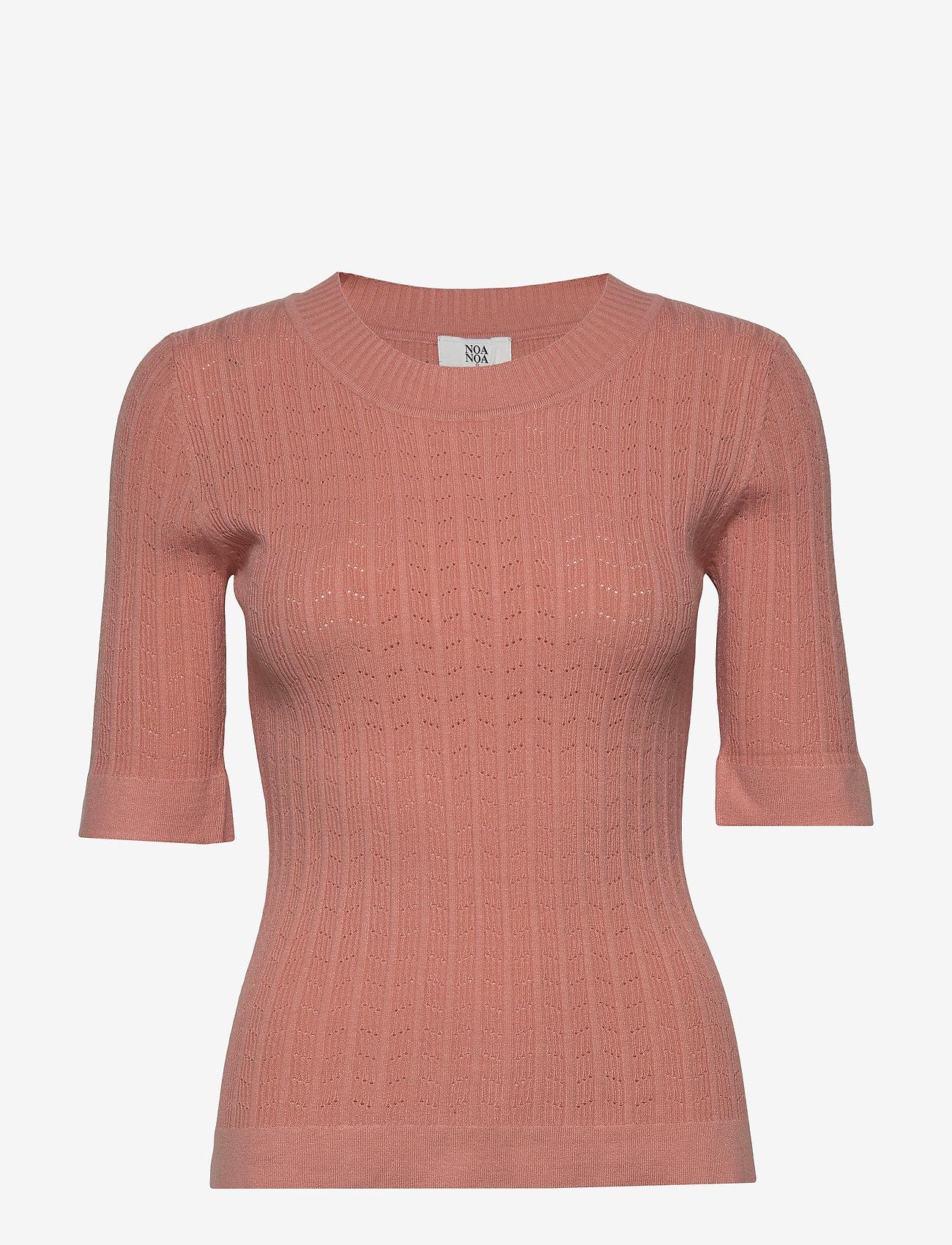 Noa Noa - Pullover - gebreide t-shirts - canyon clay - 0