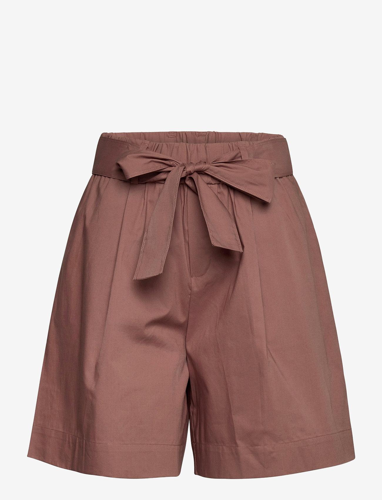 Noa Noa - Shorts - paper bag shorts - cognac - 0
