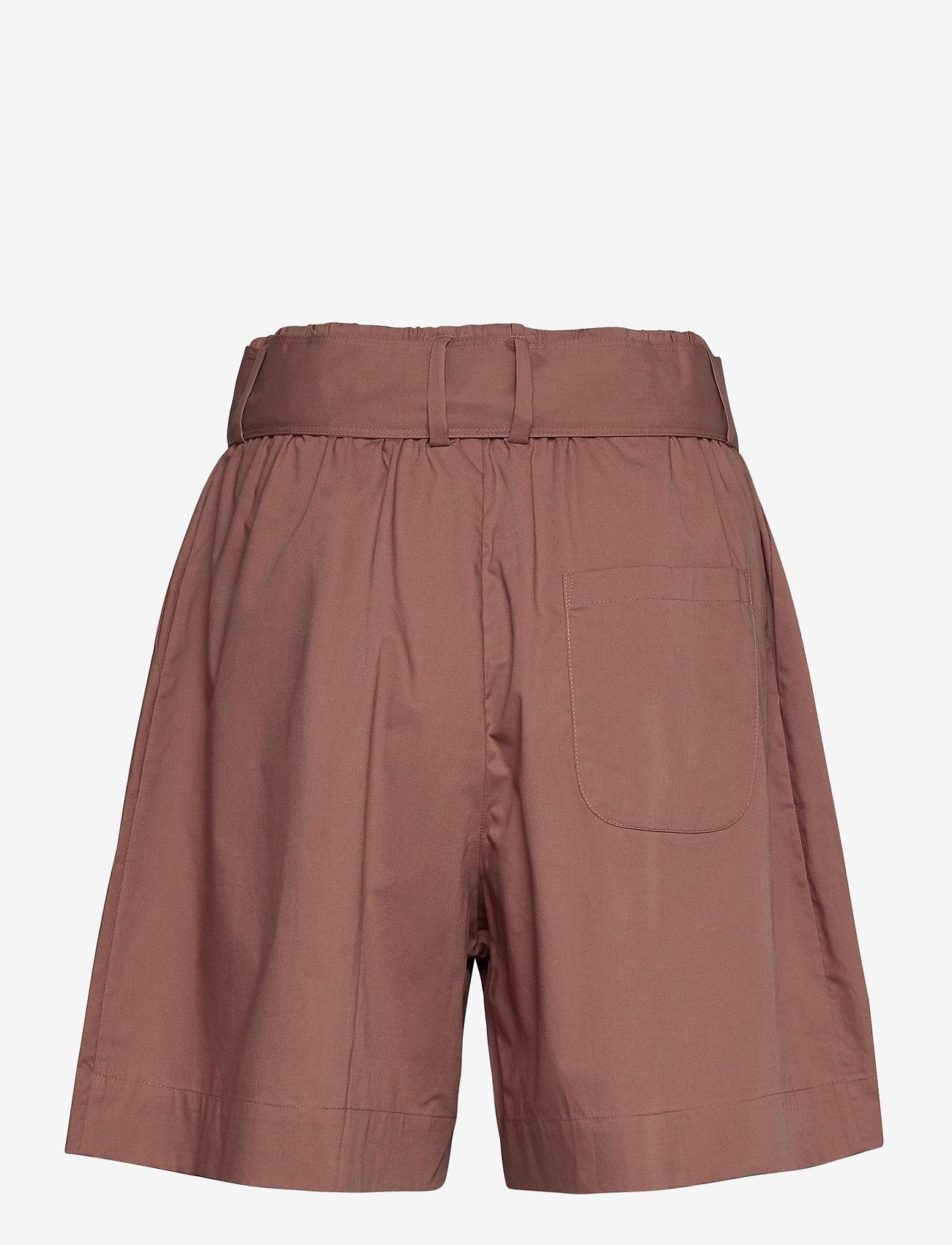 Noa Noa - Shorts - paper bag shorts - cognac - 1
