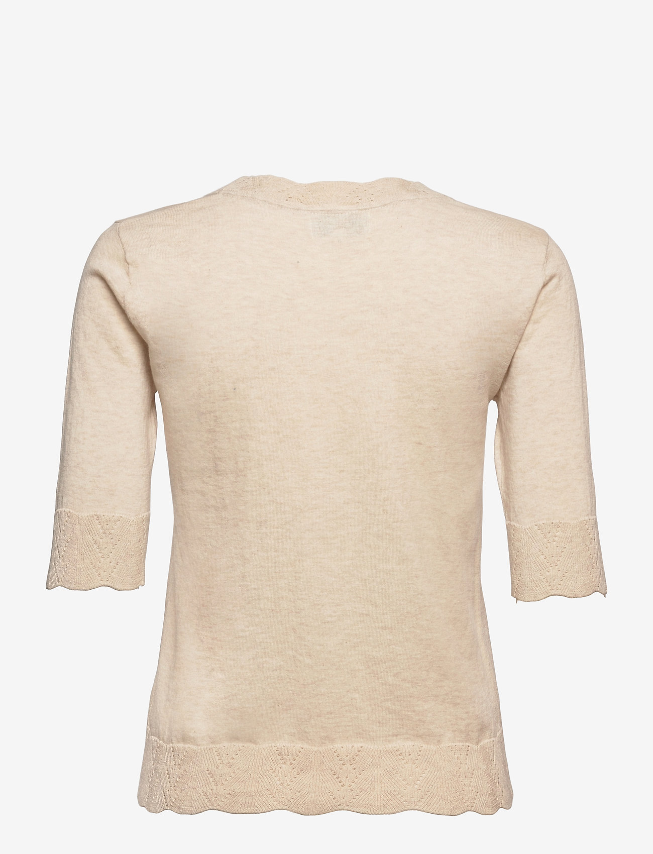 Noa Noa - Pullover - strikkede toppe - light brown melange - 1