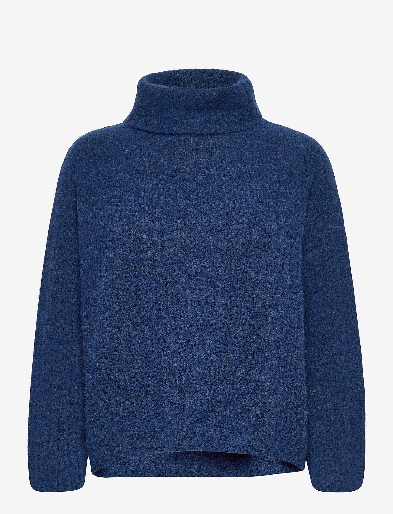 Noa Noa - Pullover - turtlenecks - blue melange - 0