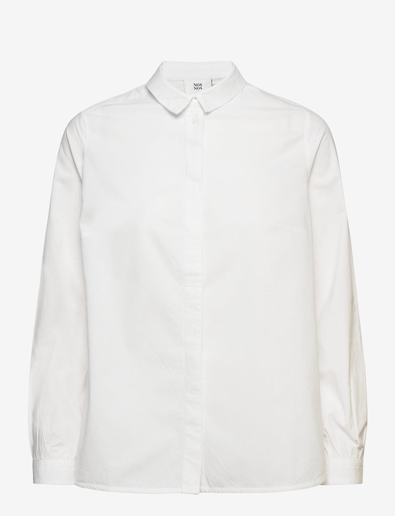 Noa Noa - Blouse - long-sleeved shirts - cloud dancer - 0