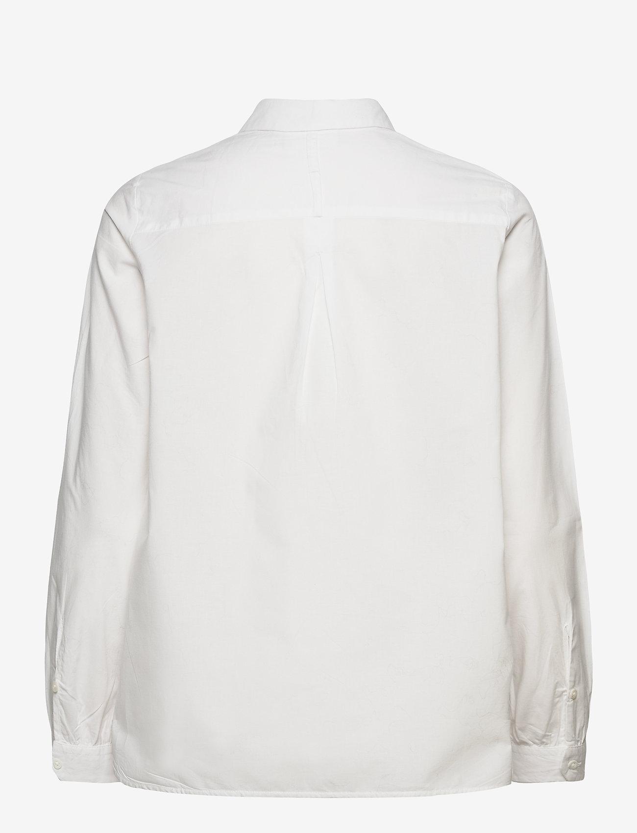 Noa Noa - Blouse - long-sleeved shirts - cloud dancer - 1