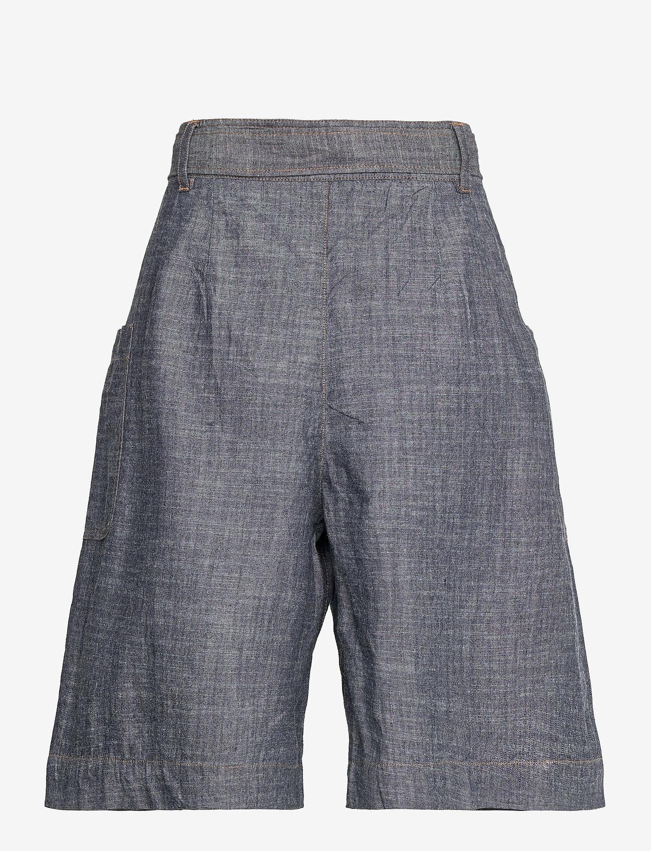 Noa Noa - Shorts - bermudas - denim dark blue - 1