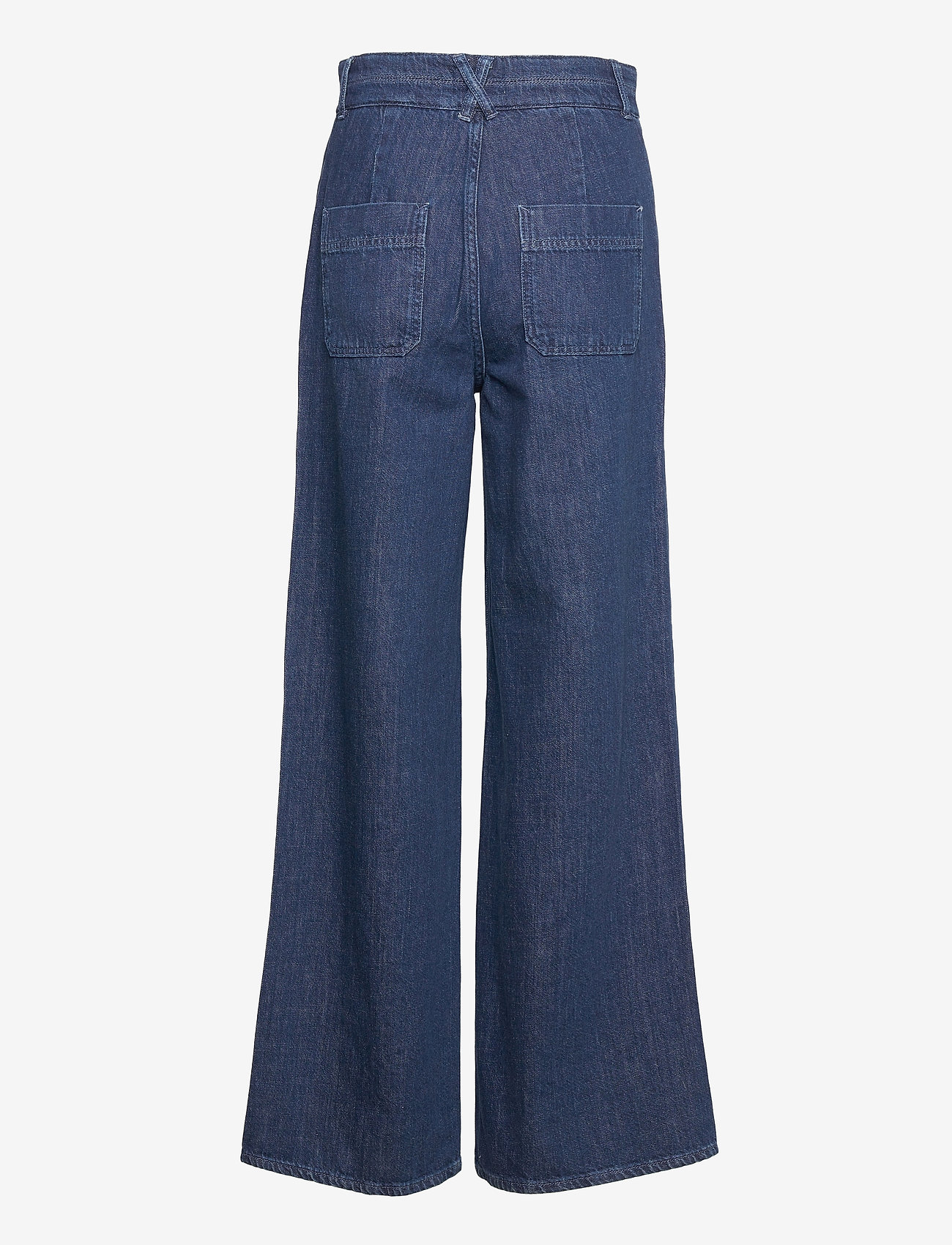 Noa Noa - Trousers - bukser med brede ben - denim dark blue - 1