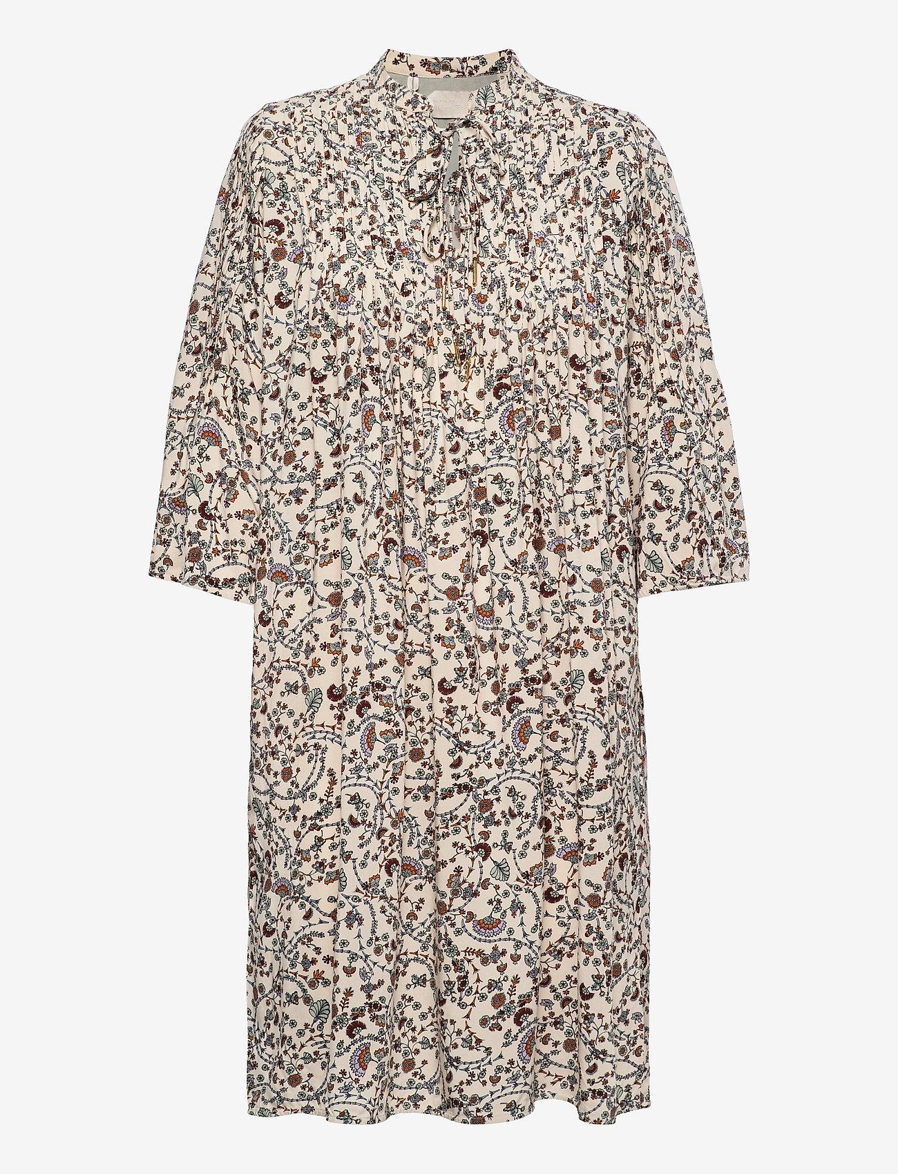 Noa Noa - Dress long sleeve - sommerkjoler - print off white - 0