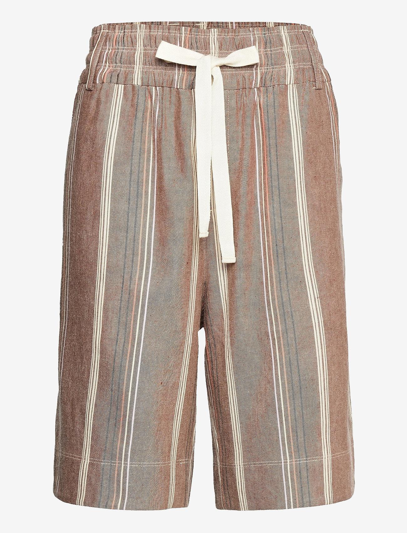 Noa Noa - Shorts - bermudas - art brown - 0