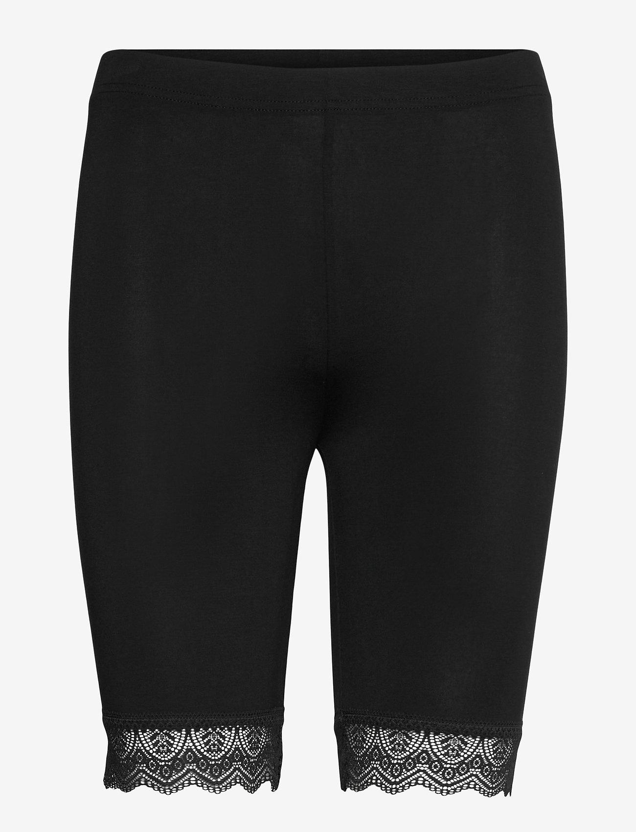 Noa Noa - Leggings - cykelshorts - black - 0