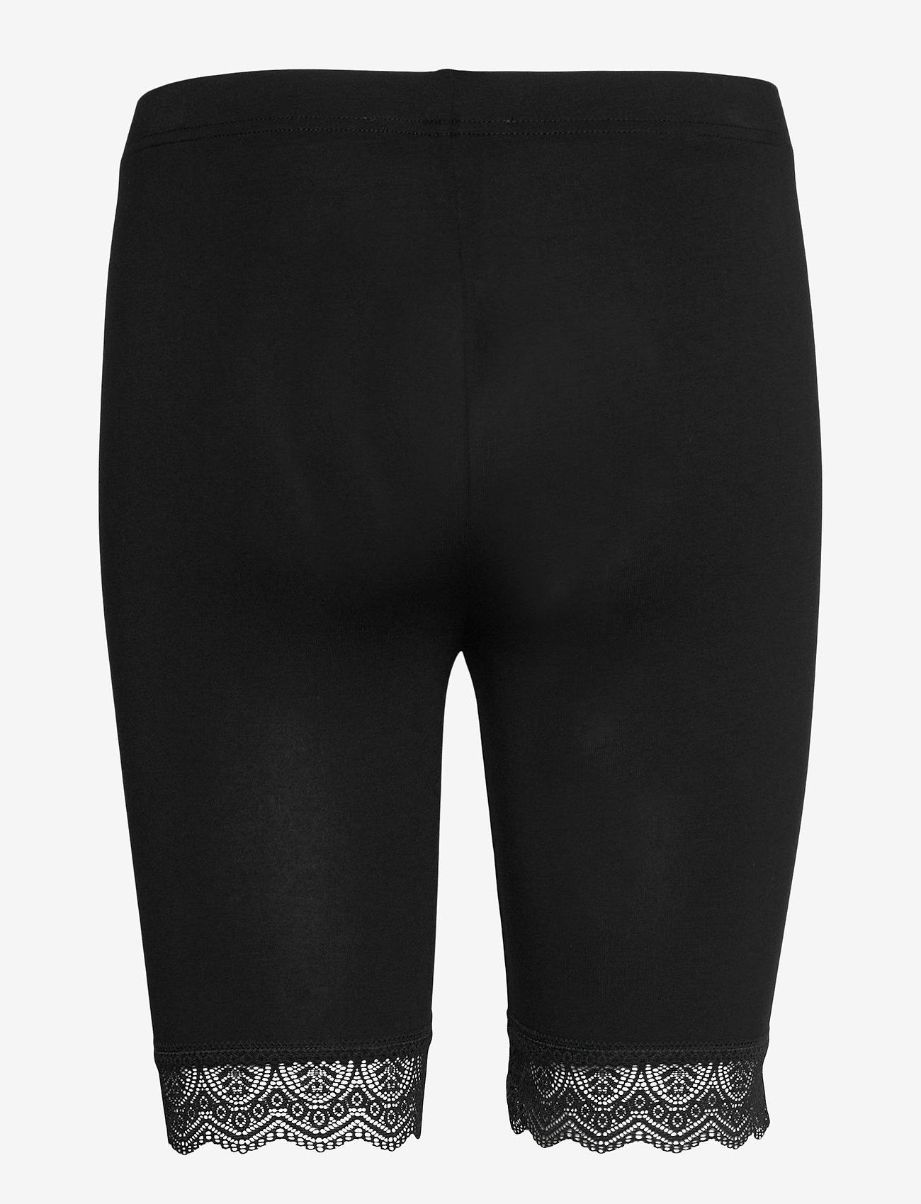 Noa Noa - Leggings - cykelshorts - black - 1