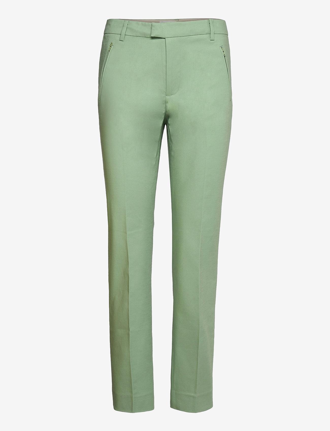 Noa Noa - Trousers - slim fit bukser - basil - 0