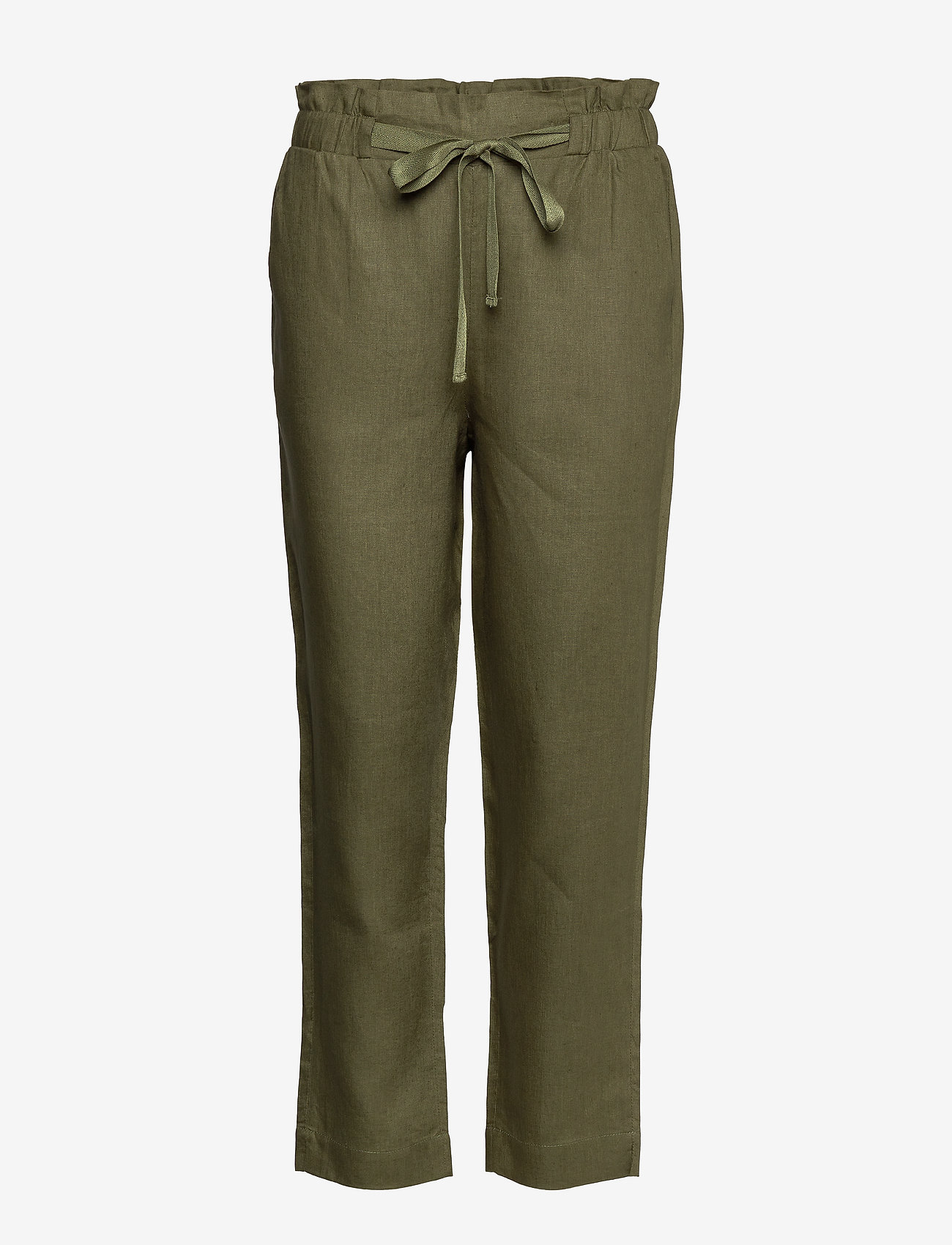Noa Noa - Trousers - broeken med straight ben - winter moss - 0