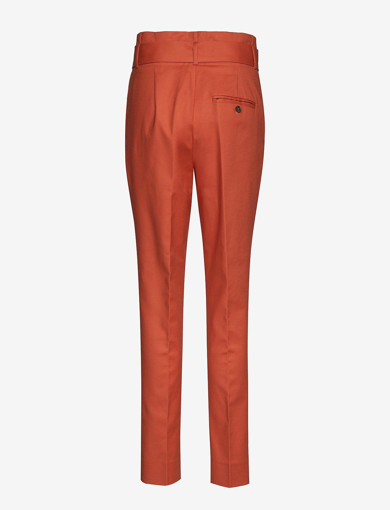 Noa Noa - Trousers - straight leg trousers - mecca orange - 1