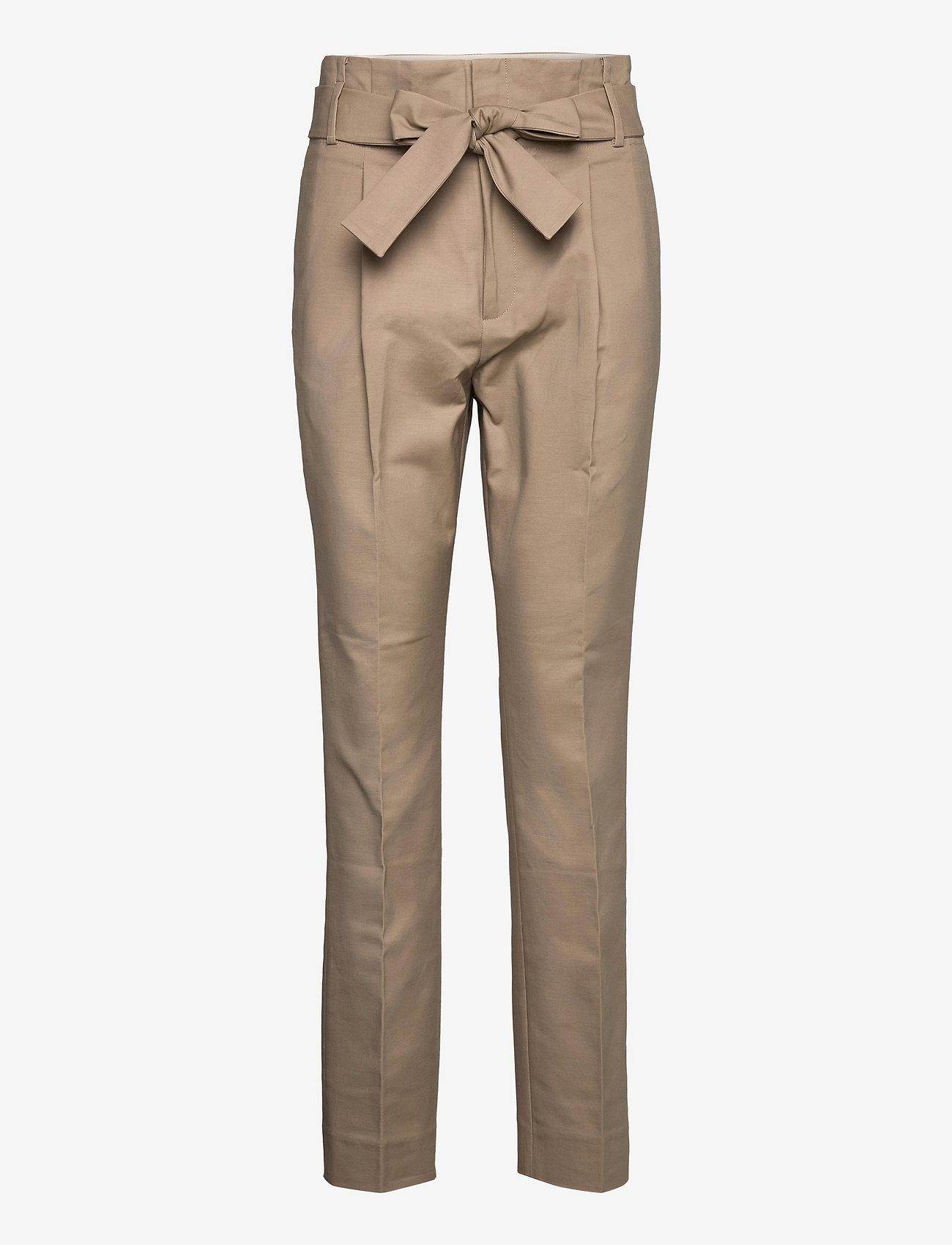 Noa Noa - Trousers - broeken med straight ben - dune - 0