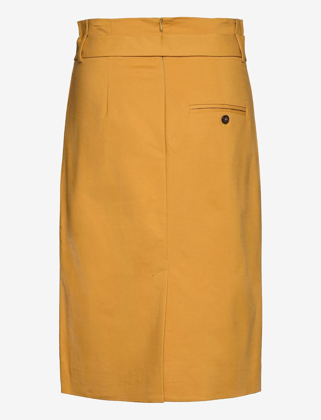 Noa Noa - Skirt - midi rokken - bright gold - 1