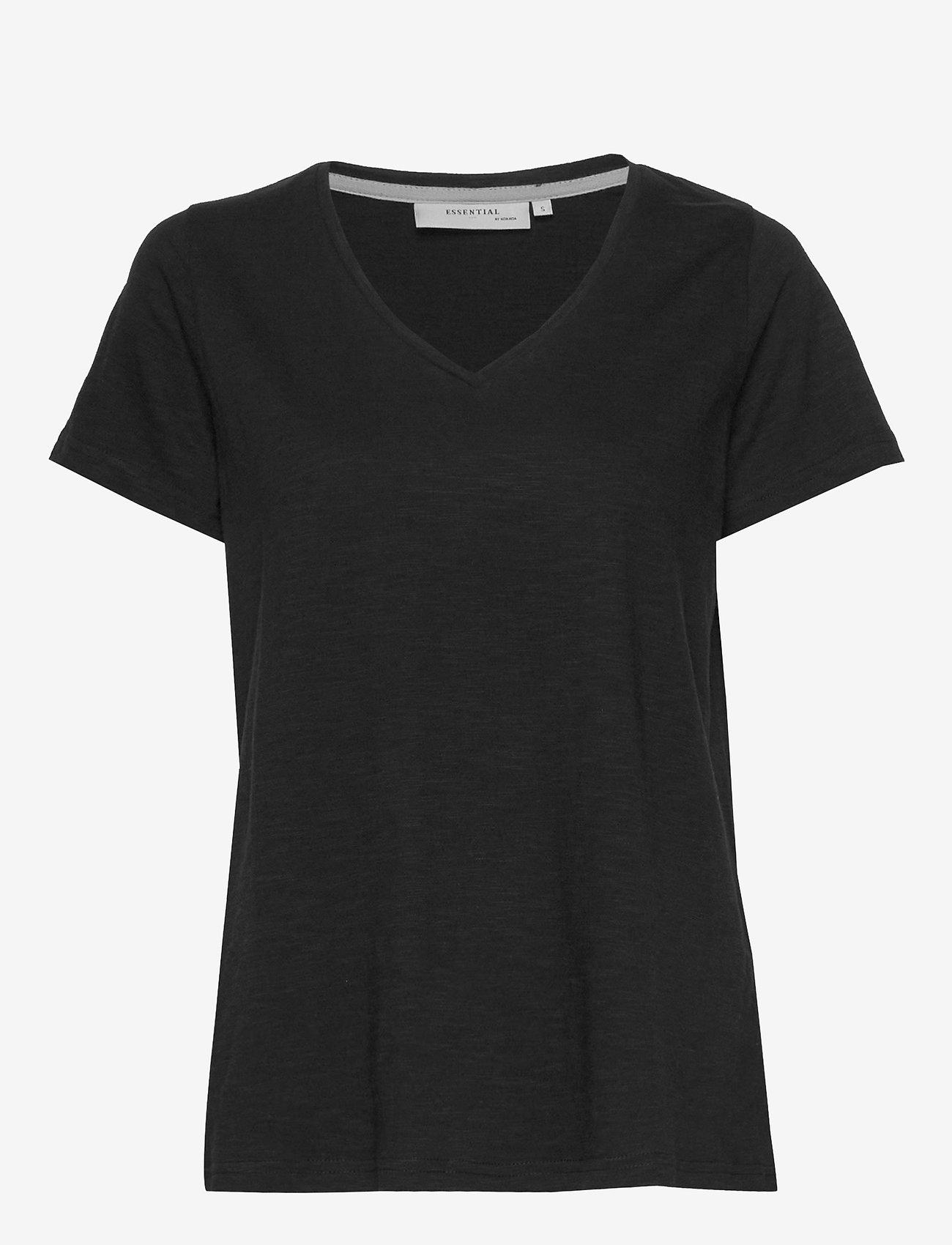 Noa Noa - T-shirt - t-shirts - black - 0