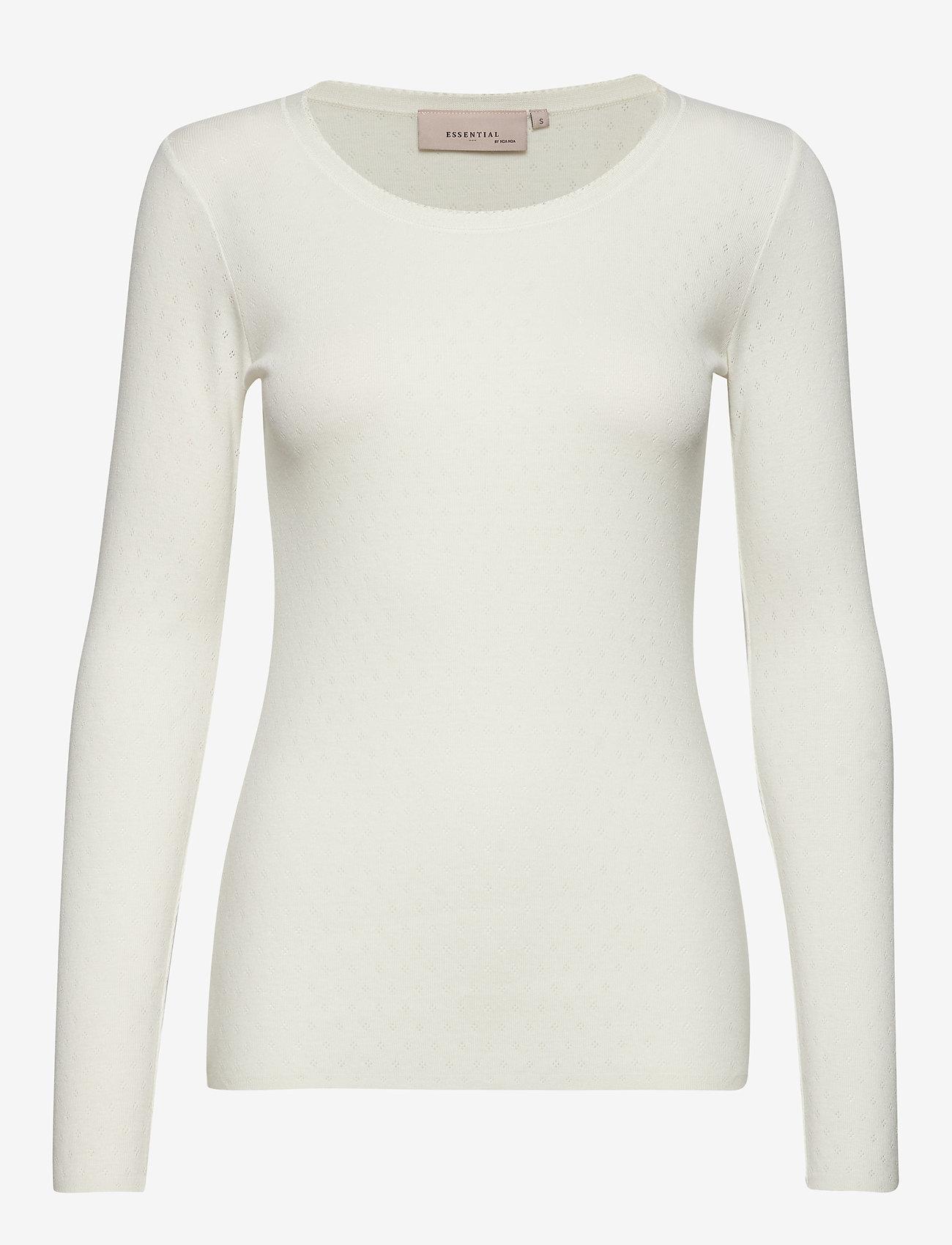 Noa Noa - T-shirt - tops met lange mouwen - cloud dancer - 0