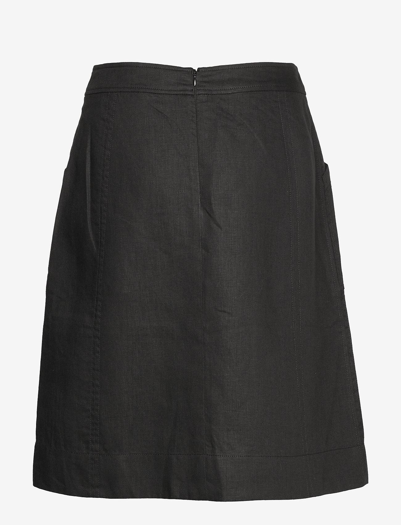 Noa Noa - Skirt - midi rokken - black - 1