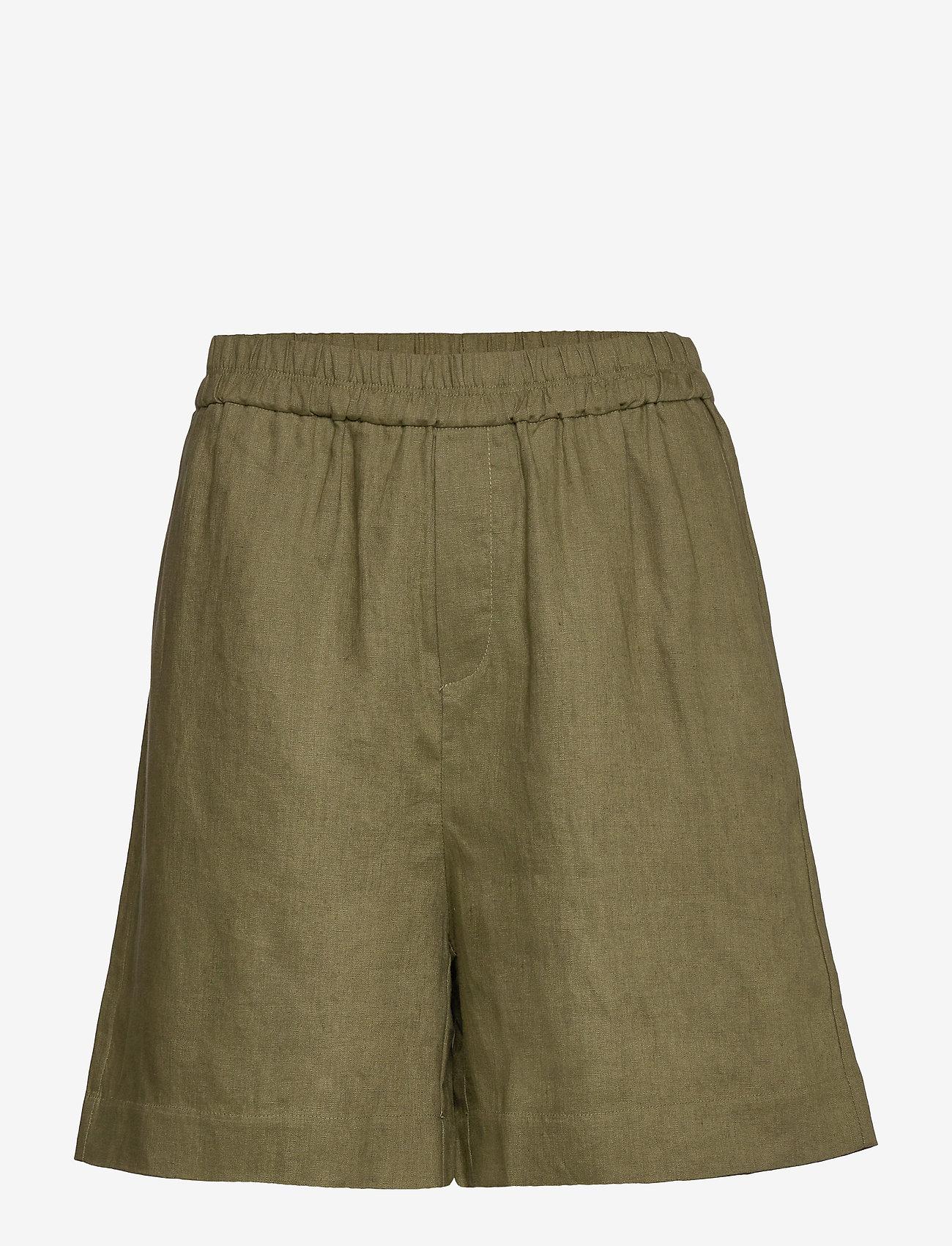Noa Noa - Shorts - casual shortsit - winter moss - 0